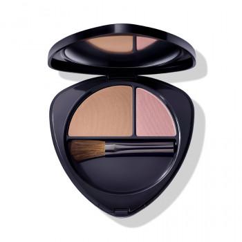 Fard à joues Duo Blush 03 nectarine ensoleillée Dr.Hauschka Maquillage