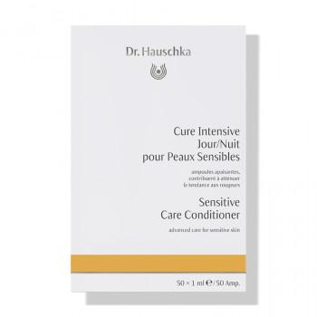 Dr. Hauschka Cure Intensive Jour/Nuit pour Peaux Sensibles 50 x 1ml - ampoules